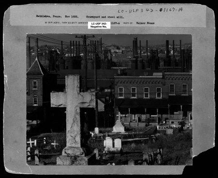 Bethlehem, Pennsylvania, November 1935 (Library of Congress)