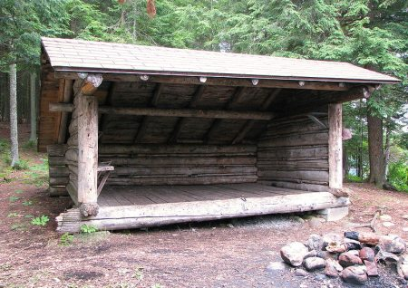 In addition to tents, lean-tos can be found on many sections of the Appalachian Trail.