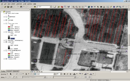 CRGIS created a GIS to manage and interpret Alexandria National Cemetery.
