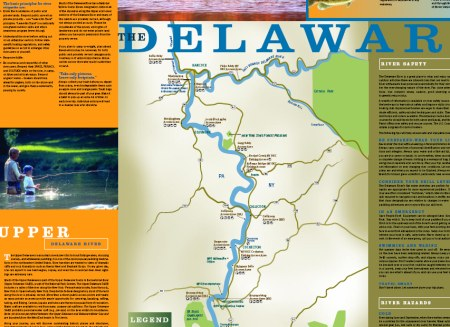 A small sample of what the water trail guide has to offer.
