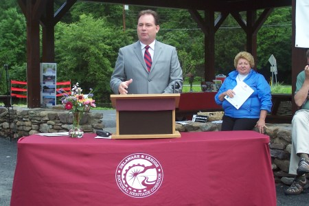 Speaker of the House, Rep. Keith McCall, provided the keynote address.